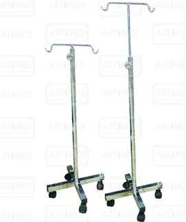 Porta Suero Hospitalario cromado  usados