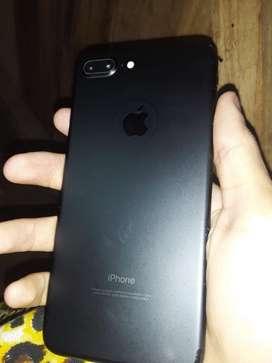 Vendo el iphone 7plus negociable