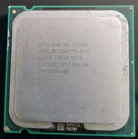 Procesador intel core 2 dúo E7500 y Celeron 430