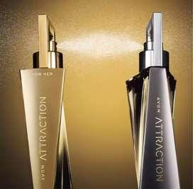 Perfume atracción de avon