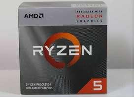 computador gamer con tarjeta de video vega 11 ryzen 5 3400g nuevo