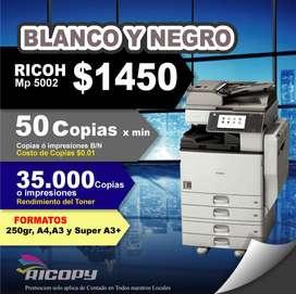 Copiadora Impresora Ricoh Mpc 5502 NEGRO OFERTA
