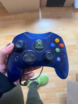Control xbox clasico azul original