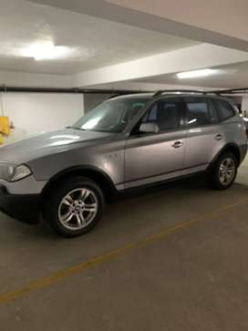 BMW X3 GRIS PLATA