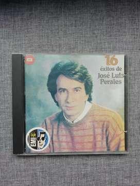 """Cd Jose Luis Perales """"16 Exitos"""""""