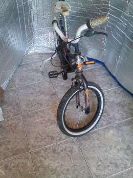 bicicleta usada rodado 14