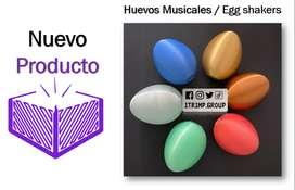 Huevos Musicales x 2 Und