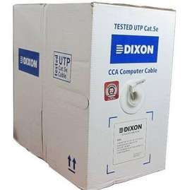 CABLE DE RED UTP DIXON CAT. 5E