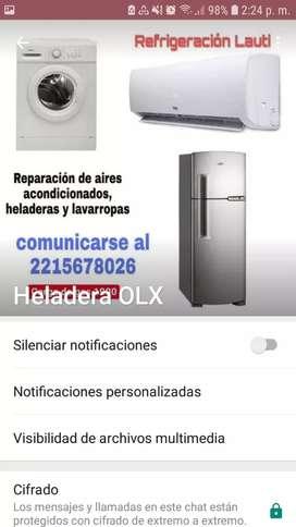 TALLER DE REFRIGERACIÓN LAUTY