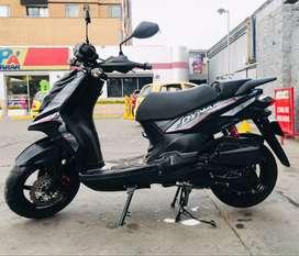 Vendo moto dinamic pro con papeles al dia