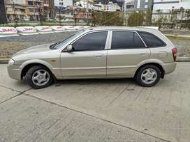 Mazda allegro Hach back