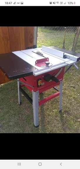 Vendo sierra circular de mesa o cambio por máquina de soldar
