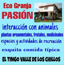 GRANJA PASIÓN En El Tingo Valle de los Chillos