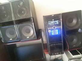 Equipo de sonido jvc
