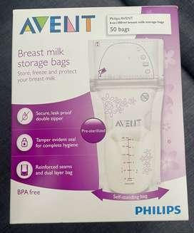 Bolsa almacenamiento leche materna (AVENT)