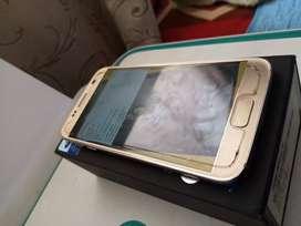 Samsung S7 32 Gb Platinium Gold Perfecto Caja Accesorios + Adpatador USB