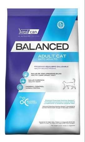 Vital Can Balanced Gato Adulto 2Kg.
