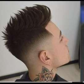 Curso de barberia y peluquería de hombres todos los niveles!!