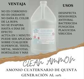 Desinfectante, Amonio Cuaternario