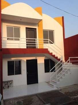 Se vende hermosa Casa- Dos niveles-Apartamento por nivel