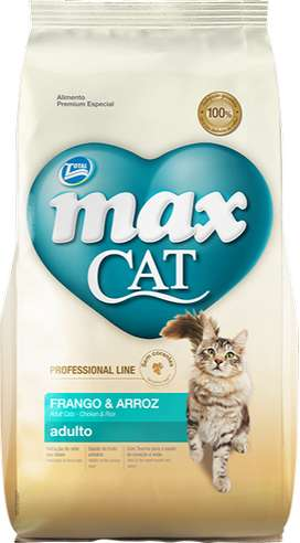Max Cat adultos pollo y arroz - 10 kg