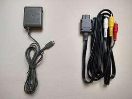 Nintendo Gameboy cargador Game boy cable nintengo 64 Game Cube