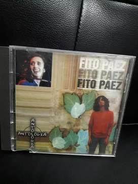 Fito Paez antología cd original $12