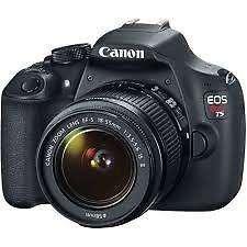 Canon T6 18 55 is II