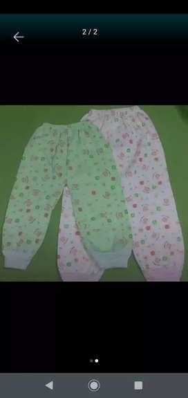 Pantalones de algodón x 2