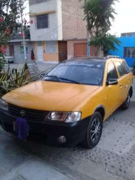 Statiton wagon Nissan AD.