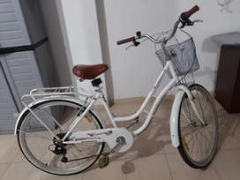 Bicicleta blanca Venezia