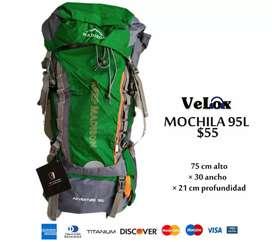 Mochilas 95L madison camping