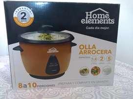 Olla Arrocera marca Home Elements