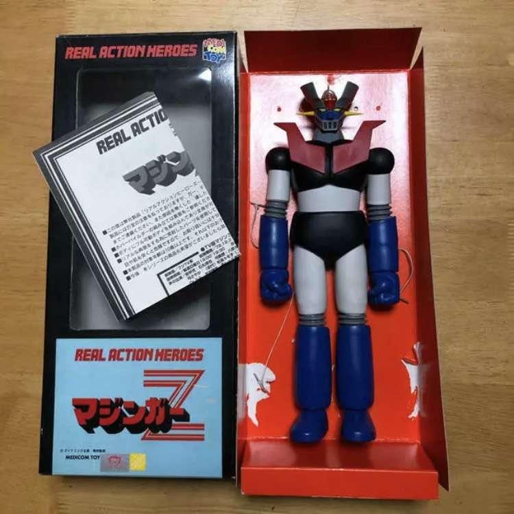 Vendo Figura Colección Mazinger Z Usada en Caja
