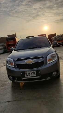 Camioneta Chevrolet orlando GLP de fabrica