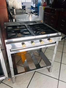 Cocina 4 quemadores