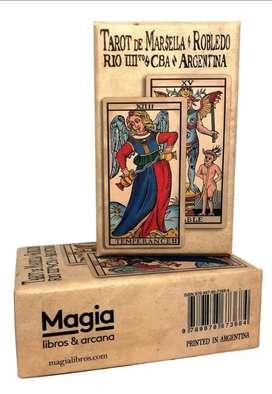 Tarot de Marsella con mazo Pablo robledo
