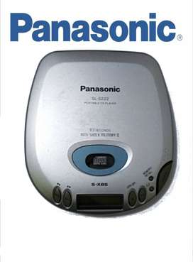 Discman. Reproductor de CD. CD Player portátil marca Panasonic Vintage