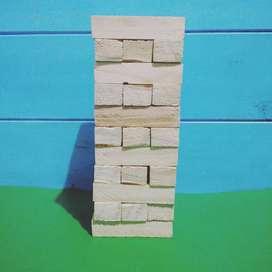 Torre de maderitas de 33 piezas