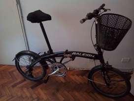 Bicicleta raleigh casi nueva