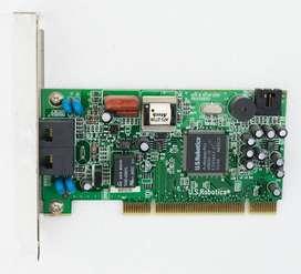 Modem U.S. Robotics 56K V92 PCI Nuevo, sin uso.