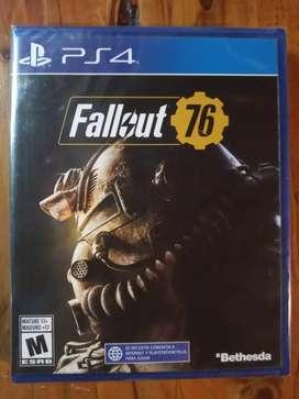 Fallout 76 Juego PS4 Nuevo Sellado Oferta!