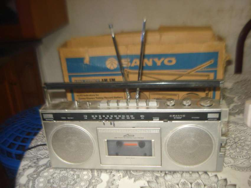 Radiograbador Sanyo M7500f Am/fm De Los 80s En Caja No Envio 0
