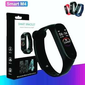 Reloj inteligente smartwhatch pulcera M4 excelente