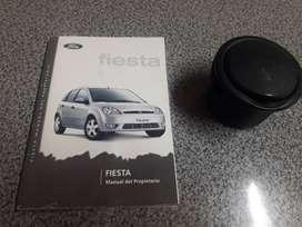 Cenicero y manual ford fiesta 03'-05'