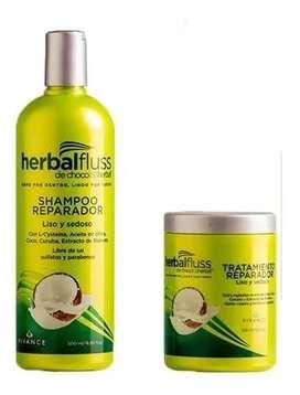 Shampoo Y Tratamiento Reparador X 500 Ml - mL a $82