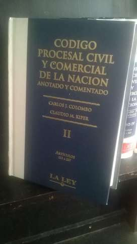 Libros códigos procesal civil y comercial