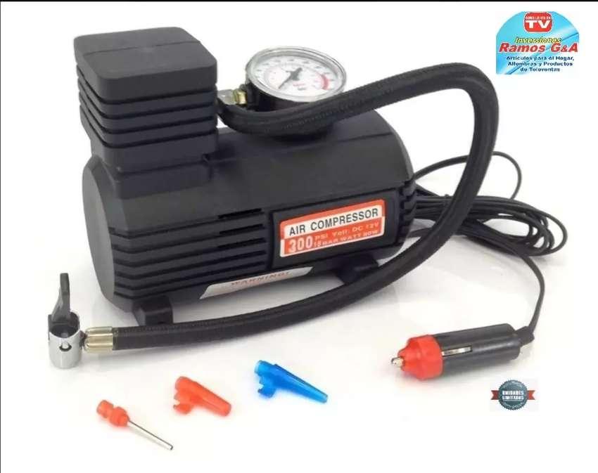 Mini compresor Portatil multifuncional Oferta limitada 0