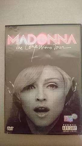 Dvd Madonna The Confessions Touroriginal