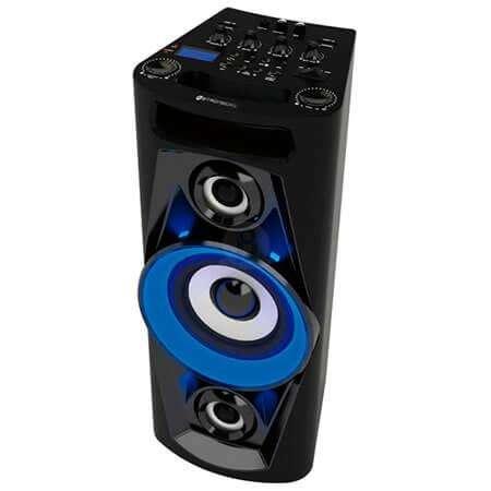 parlante portatil karaoke stromberg carlson mega 10 en 12 y 18 cuotas 0
